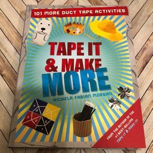 Tape It & Make More Paperback Duct Tape Craft Book